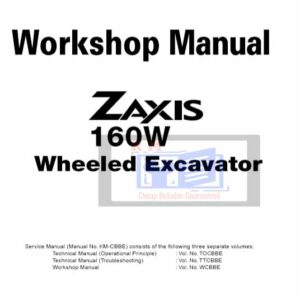 Hitachi ZX160W Wheeled Excavator Manuals Collection