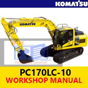 Komatsu PC170LC-10 Excavator Workshop Manual