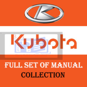 Kubota Workshop Manual Repair Manuals Collection