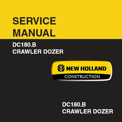 New Holland DC180B Crawler Dozer Service Manual