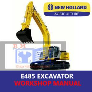 new holland manual E485 Excavator Workshop Repair Manual