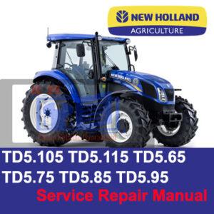 new holland tractor manual TD5.105, TD5.115, TD5.65, TD5.75, TD5.85, TD5.95 Service Repair Manual