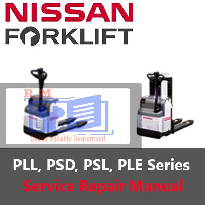 Nissan Forklift PLL PSD PSL