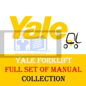 Yale Forklift Class 5 Service Manuals Full Set Of Collection