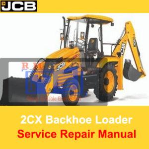 JCB 2CX Backhoe Loader Service Repair Manual