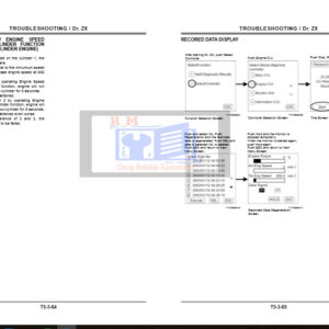 Hitachi Dr.Zx Troubleshooting Manual