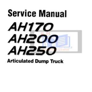 Hitachi AH170 AH200 AH250 Articulated Dump Workshop Manual