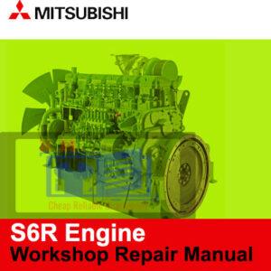 Mitsubishi S6R Engine Workshop Repair Manual