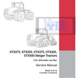 New Holland Tractor STX275, STX325, STX375, STX425, STX450 Service Repair Manual
