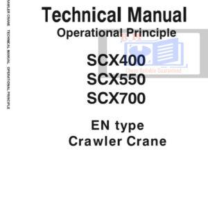Hitachi Sumitomo SCX400, SCX550, SCX700 Crawler Crane Technical Manual