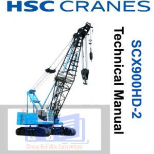 Hitachi Sumitomo SCX900HD-2 Crane Technical Manual