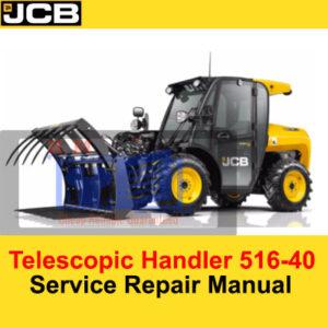 JCB 516-40 Telescopic Handler Service Repair Manual