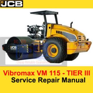JCB Vibromax VM 115 – TIER III Service Repair Manual