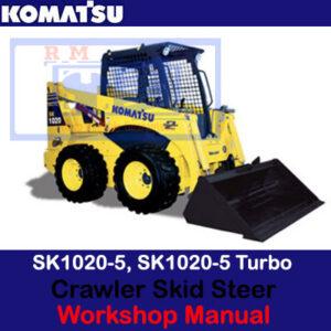 Komatsu SK1020-5, SK1020-5 Turbo, Skid Steer Loader Workshop Manual