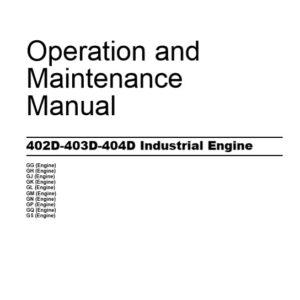 Perkins 402D-403D-404D Operation and Maintenance Manual
