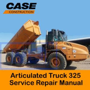 Case 325 Articulated Truck Service Repair Manual