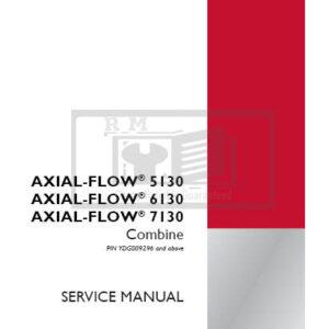 Case Axial-Flow 5130, Axial-Flow 6130, Axial-Flow 7130 Combine Service Repair Manual
