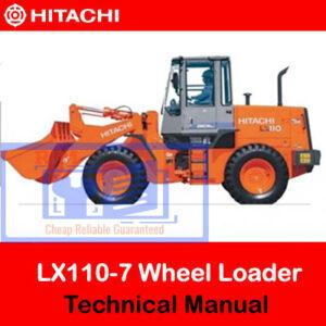 Hitachi LX110-7 Technical Manual