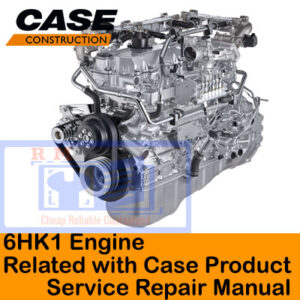Isuzu 6HK1 Engine Related with Case Product Service Repair Manual