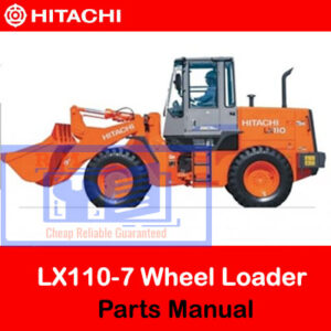 Hitachi LX110-7 Wheel Loader Parts Manual