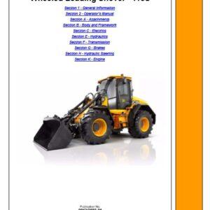 JCB 418S Loader Service Repair Manual