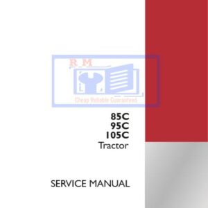 Case 85C, 95C, 105C Tractor Service Repair Manual