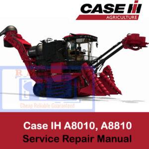 Case IH Tractor A8010, A8810 Sugar Cane Harvester Service Repair Manual