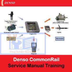 Denso CommonRail Isuzu Service Manual Training