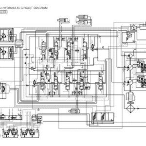 Hitachi EX100-5, EX100M-5, EX110M-5, EX100-5E Electrical & Hydraulic Diagrams