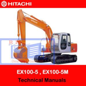 Hitachi EX100-5, EX1110-5, EX100M-5, EX110M-5 Technical Manuals