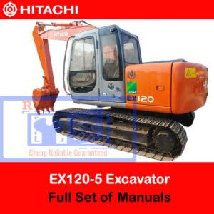 Hitachi EX120-5 Full Set of Manuals