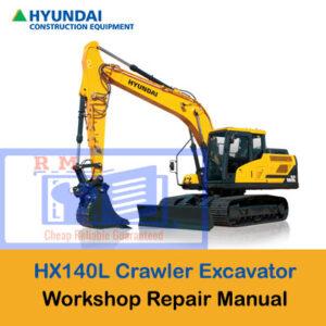 Hyundai HX140L Crawler Excavator Workshop Manual