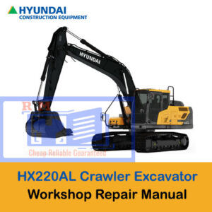 Hyundai HX220AL Crawler Excavator Workshop Manual