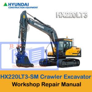 Hyundai HX220LT3 Crawler Excavator Workshop Manual