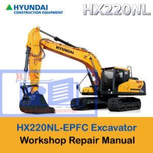 Hyundai HX220NL-EPFC Crawler Excavator Workshop Manual