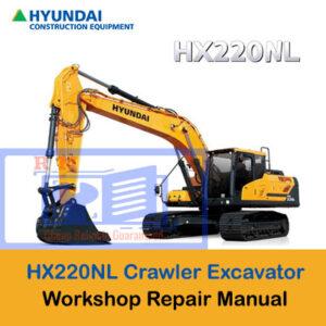 Hyundai HX220NL Crawler Excavator Workshop Manual