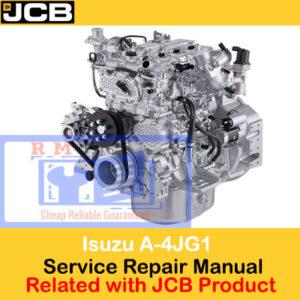 JCB Engines Isuzu A-4JG1 Workshop Manual