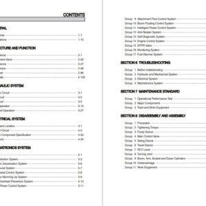 Hyundai HX145LCR Crawler Excavator Workshop Manual