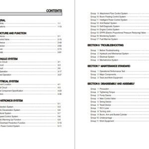 Hyundai HX220L-EPFC Crawler Excavator Workshop Manual