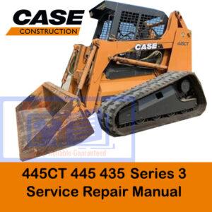 Case 435, 445, 445CT Series 3 Track Loader Service Repair Manual