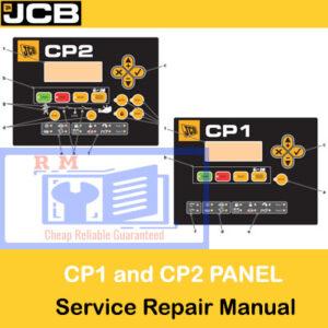 JCB CP1 and CP2 Digital Control Panel Service Repair Manual