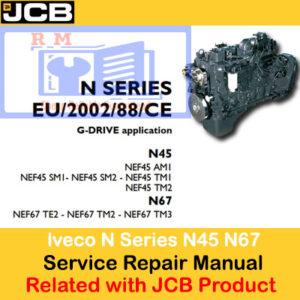 JCB Mobile Platform lveco N Series Engines N45 N67 Service Repair Manual
