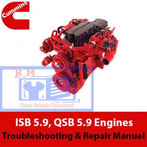 Cummins ISB 5.9, QSB 5.9 Troubleshooting & Repair Manual