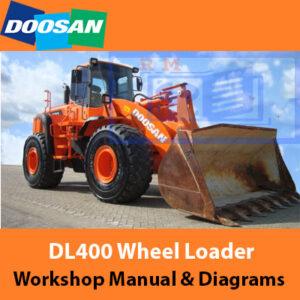 Doosan DL400 Wheel Loader Workshop Manual And Diagrams