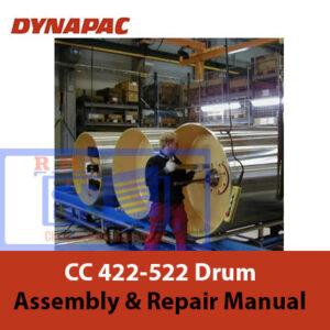 Dynapac CC 422-522 Drum Assembly and Repair Manual