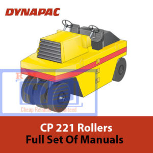Dynapac CP221, CP271 Full set of Manuals