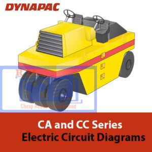 Dynapac CA and CC Electric Circuit Diagrams