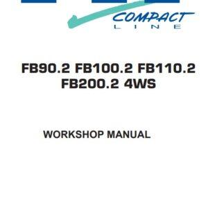 Fiat Hitachi Wheel Loader FB90.2, FB100.2, FB110.2, FB200.2 Workshop Manual