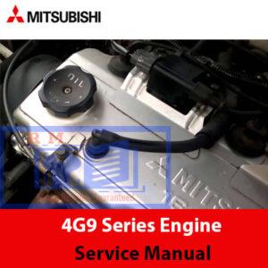 Mitsubishi 4G9 Series Engine Service Manual