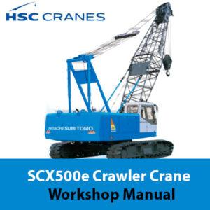 Hitachi Sumitomo SCX500e Crane Workshop Manual